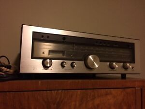 LUXMAN R-1040,rosewood cabinet
