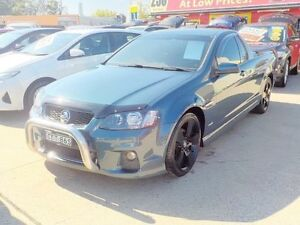 2012 Holden Commodore SV6 Blue Manual Utility Lansvale Liverpool Area Preview