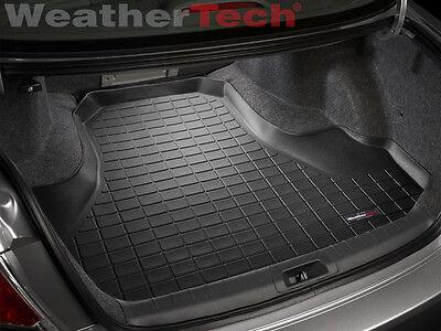 (WeatherTech Cargo Liner Trunk Mat for Honda Accord Sedan - 2008-2012 - Black)