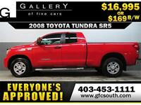2008 TOYOTA TUNDRA SR5 *EVERYONE APPROVED* $0 DOWN $169/BW!