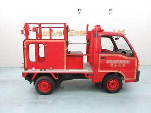 1994 Subaru FIRE TRUCK mini truck 1677 ORIG KMS LIKE BRAND NEW