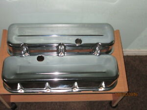 Valve Covers Tall Chrome Big Block Chevy