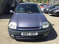 Cheap car of the day Renault Clio automatic, starts and drives well, very low mileage of 56,000, tra