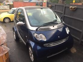 2004 mercedes smart car passion city 61 auto for spares or repair project 700cc