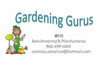 Landscaping, Fall Clean-up, Gardening