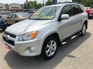 2010 Toyota RAV4 LIMITED 4WD BLUETOOTH CAMERA LOADED..MINT