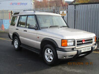 LAND ROVER DISCOVERY TD5 GS SILVER