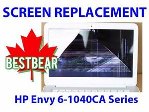 Screen Replacment for HP Envy 6-1040CA Series Laptop