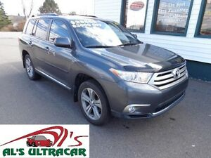 2012 Toyota Highlander Sport w/ leather, sunroof & remote start!