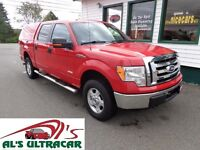 2012 Ford F-150 XLT SuperCrew for only $249 bi-weekly!