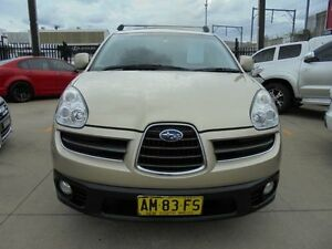 2006 Subaru Tribeca B9 MY07 R Premium Pack Gold 5 Speed Automatic Wagon Granville Parramatta Area Preview