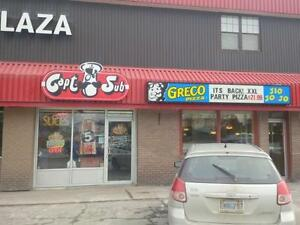 Greco Pizza Franchise Corporate location available.