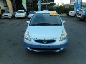 2004 Honda Jazz GLi Blue Continuous Variable Hatchback Coorparoo Brisbane South East Preview