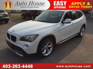 2012 BMW X1 NAVIGATION PANORAMIC ROOF
