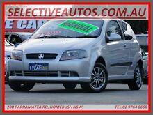 2007 Holden Barina TK MY08 Silver 5 Speed Manual Hatchback Homebush Strathfield Area Preview