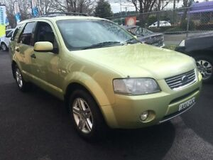 2004 Ford Territory SX Ghia (4x4) Green 4 Speed Auto Seq Sportshift Wagon Campbelltown Campbelltown Area Preview