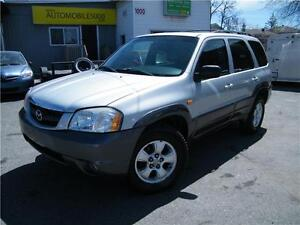 2004 Mazda Tribute ES V6 4X4 . CUIR. TOIT OUVRANT .