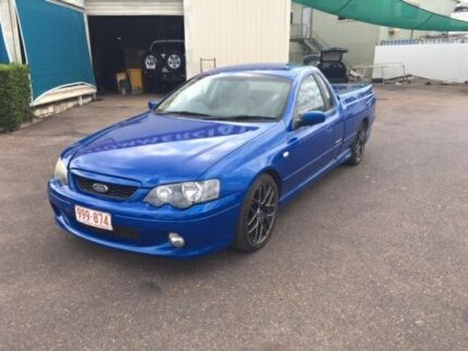 2005 Ford Falcon BA MkII XR6 Magnet Blue 4 Speed Auto Seq Sportshift Utility Berrimah Darwin City Preview
