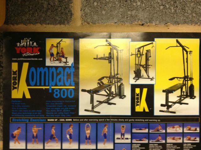 Fitness Material Center Leoben York Kompact 800 Multi Gym