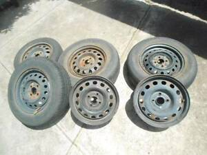STEEL RIMS 14 X 5.5 J - MANY SETS AVAILABLE. Seacliff Park Marion Area Preview