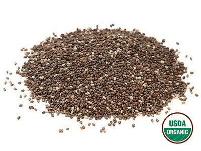 Organic Black Chia Seeds, 5 Lb-greenbulk