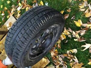 2 pneus et 4 jantes Saguenay Saguenay-Lac-Saint-Jean image 1