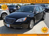 2013 Chrysler 200 Limited, $56/Weekly, NO PAYMENTS UNTIL 2016