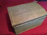 Green Wicker basket
