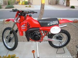 Parts wanted for a 1982 Honda CR250
