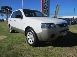 2008 Ford Territory SY TX White Automatic Sedan Wangara Wanneroo Area Preview