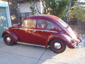Classic '59 Beetle with Rebuilt Transaxle and 36 HP Engine