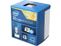 Intel 4690K CPU - with stock cooler and original box