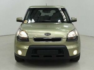 2009 Kia Soul AM MY10 3.0 Green 4 Speed Automatic Hatchback Edgewater Joondalup Area Preview