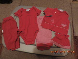 Infants 3months 5 Piece Disney Outfit