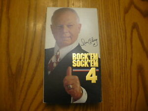 Don Cherry Rock'em Sock'em 4 VHS