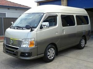 2011 Nissan Caravan 25 Series 9 seater Gold 4 Speed Automatic Wagon Taren Point Sutherland Area Preview