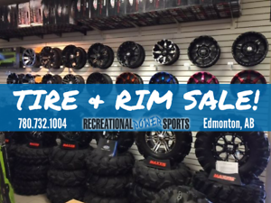 35% OFF ATV / UTV TIRES & RIMS!!!