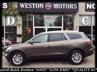 2008 Buick Enclave *AWD*LOW KMS!*7 PASS*DVD*FULLY LOADED*