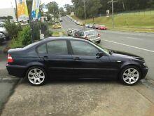 2002 BMW 318I E46 Executive Orient Blue 5 Speed Auto Steptronic Sedan Southport Gold Coast City Preview
