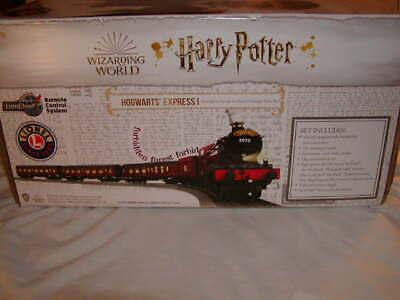Lionel 2023170 Hogwarts Express Train Set LionChief w Dementors Coach O 027 MIB