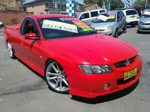 2002 Holden Commodore VY SS Red 6 Speed Manual Utility Greenacre Bankstown Area Preview