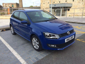 2012 Volkswagen Polo 1.4 Match( 85ps ) BLUE 5 Door