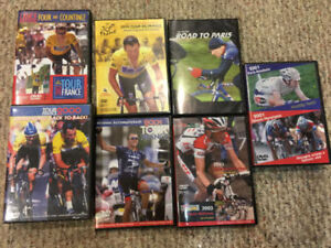 Cycling DVDs Collection