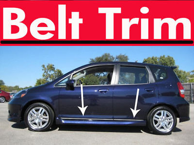 Honda FIT 2007 2008 2009-2014/JAZZ 2001-2008 CHROME SIDE BELT TRIM DOOR MOLDING
