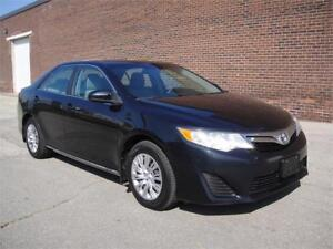 2012 TOYOTA CAMRY LE-ZERO ACCIDENTS,BLUETOOTH,LOADED