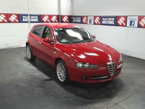 2008 Alfa Romeo 147 Facelift Selespeed Red 5 Speed Automatic Selespeed Hatchback Cardiff Lake Macquarie Area Preview