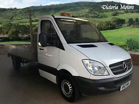 2013 MERCEDES BENZ SPRINTER 313 CDI TAIL LIFT DROPSIDE 13FT6 BODY