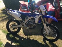 2015 wr450f low kms comes with fox helmet and extras Meadowbrook Logan Area Preview