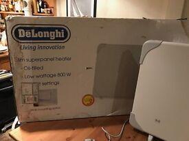 DeLonghi Economical Electric Slim Superpanel Heater