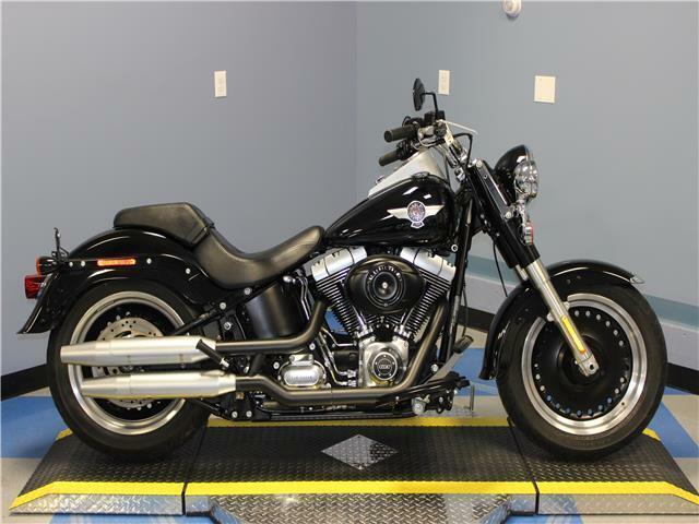 2013 Harley Davidson Fat Boy Lo 24165 Miles Black cruiser 1687 cc 6 Speed Manual